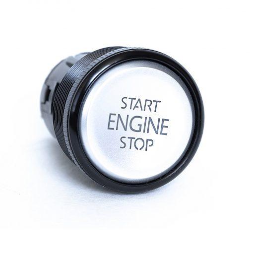 кнопка старт стоп металлическая